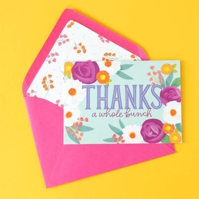 Floral Frenzy Stationery Bundle
