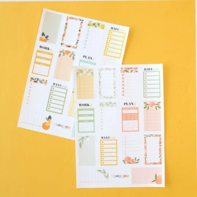 Fresh Squeezed Planner Bundle
