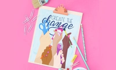 Create The Change Wall Art