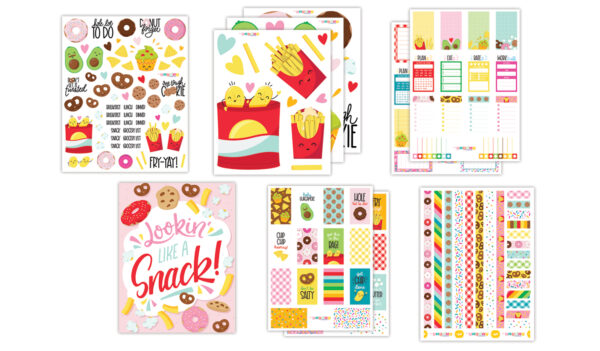 Like a Snack Planner Bundle