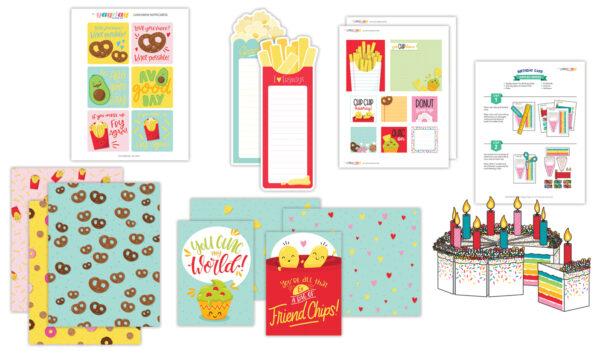 Like a Snack Stationery Bundle