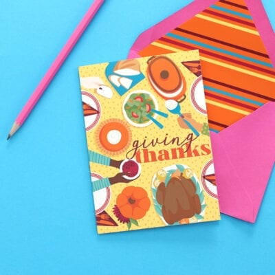 Color Fall Stationery Bundle
