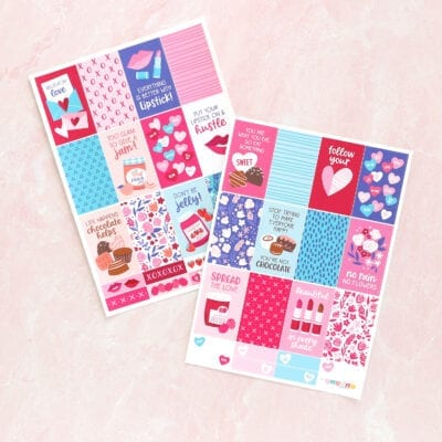 Sending Love Planner Bundle