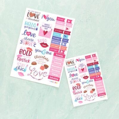 Sending Love Planner Bundle